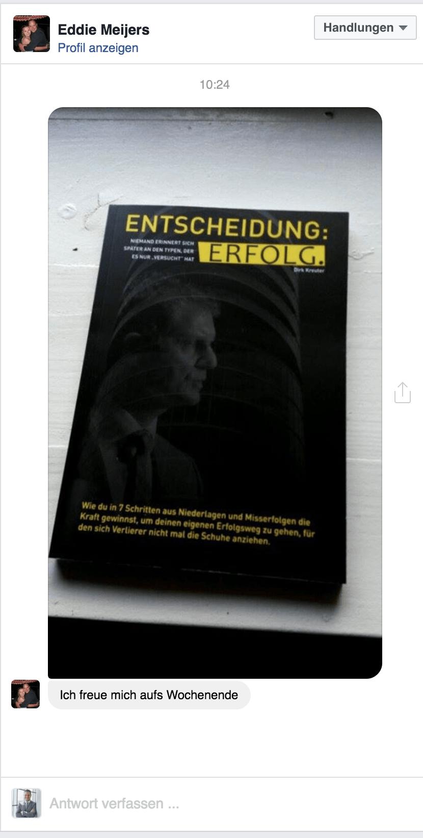 Kostenloses Buch- Entscheidung: Erfolg von Dirk Kreuter